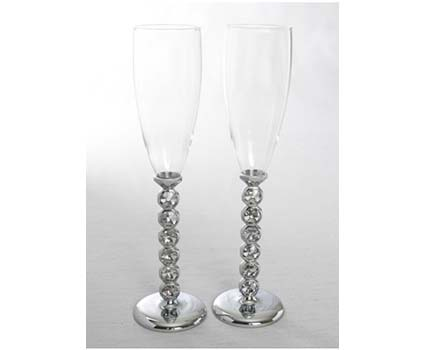 A91009 facet stone toasting glasses