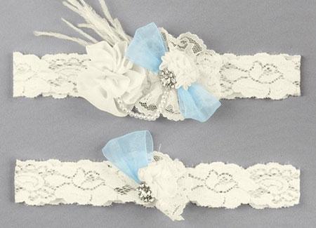 A91349-Something-Blue-Vintage-Garter-Set---White