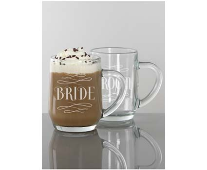 A91662 bride and groom mugs