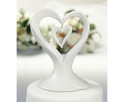 CT320H double heart porcelain