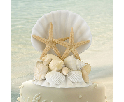 CT440 seashell cake topper