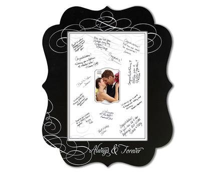 FR560 chalkboard signing frame