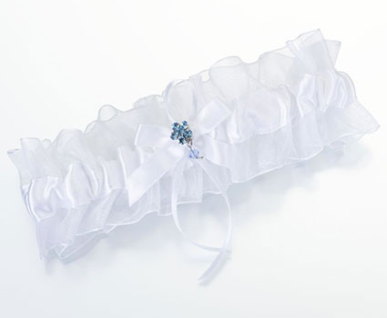 LG119-Something-Blue-Garter-Single