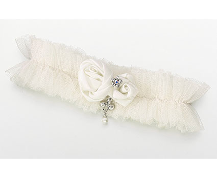 LG191-Tulle-Jeweled-Garter-Single