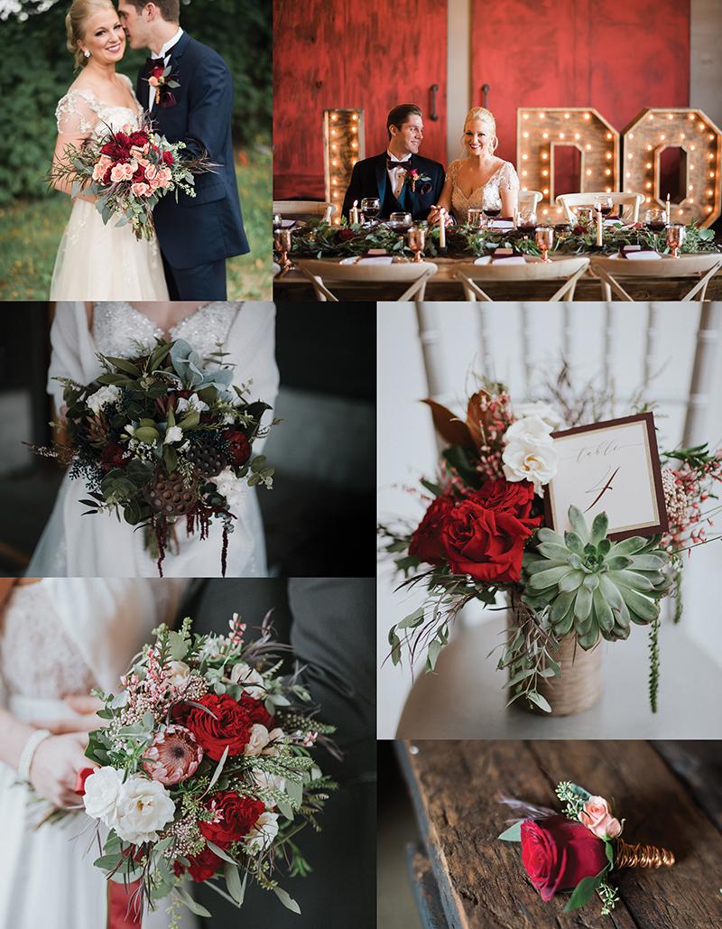 Alfa flower wedding shop for Terrace 167 wedding venue
